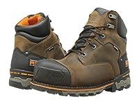 (ティンバーランド)Timberland メンズブーツ・靴 Boondock 6inches Soft Toe WP Brown 8 26cm E - Wide [並行輸入品]