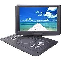 E-BALANCE ポータブル dvdプレーヤー 15.4インチ TDP-F15K 大画面 フルセグ & ワンセグ 地上デジタル放送 地デジ テレビ TV チューナー 搭載 高画質 CPRM対応 リージョンフリー AC・DC・バッテリーの3電源対応