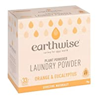 earthwise アースワイズ ランドリーパウダー オレンジ×ユーカリ 洗濯用洗剤 粉末タイプ 植物由来成分 1kg