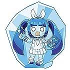 アスカモデル チョトプラモシリーズ ニパ子 凍結Ver. (ブルークリアー・ホワイトクリアー 各1枚入) プラモデル YWCP-006