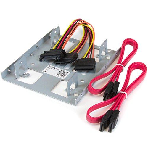 StarTech 2.5インチ - 3.5インチHDD変換マウンタ 2台同時取付け可能 BRACKET25X2 1個