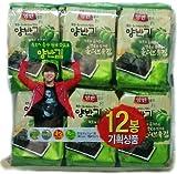 韓国のり・ヤンバン海苔 1BOX(5g * 48袋)オリーブ油海苔 韓国産 最低価格 人気商品 韓国味付けのり 格安 超特価 BIGセール 速い配送