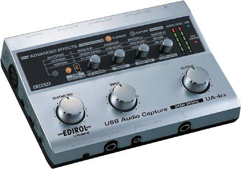 EDIROL USB オーディオキャプチャー UA-4FX