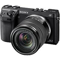 ソニー SONY ミラーレス一眼 α NEX-7 ズームレンズキット E18-55mm F3.5-5.6 OSS付属 専用ブラックモデル NEX-7K