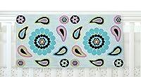 "KESS InHouse Nina May""Paisley Candy"" Paisley Flower Fleece Baby Blanket, 40"" x 30"" [並行輸入品]"