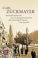 Deutschlandbericht fuer das Kriegsministerium der Vereinigten Staaten von Amerika