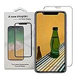 iPhone 4S スクリーンプロテクター 強化ガラス [端から端まで保護] Apple iPhone 4s用 (2018)