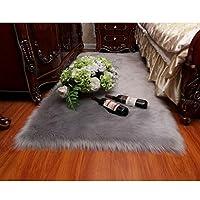 ラグマット カーペット やわらかい 屋内 防ダニ グレー 通気 人工ウール おしゃれ 耐久性 耐摩耗 耐圧 非退色 環境にやさしい 清掃しやすい 絨毯 70*200 とろける肌触り シンプル リビングマット 玄関マット