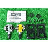 シマノ(SHIMANO) SPD ビンディングペダル PD-M520 リフレクターユニット SM-PD22 クリート SM-SH51 3点セット★自転車 自転車パーツ