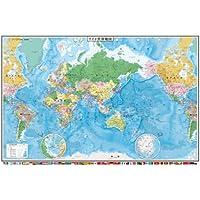 1000ピース ジグソーパズル 光るワイド世界地図(50x75cm)