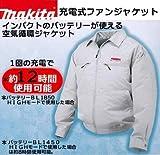 マキタ FJ200DZ 充電式ファンジャケット 3L バッテリー・バッテリーホルダー別売