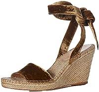 [LOEFFLER RANDALL] Women's Harper-cvl Espadrille Wedge Sandal, Sienna, Size 11.0 [並行輸入品]