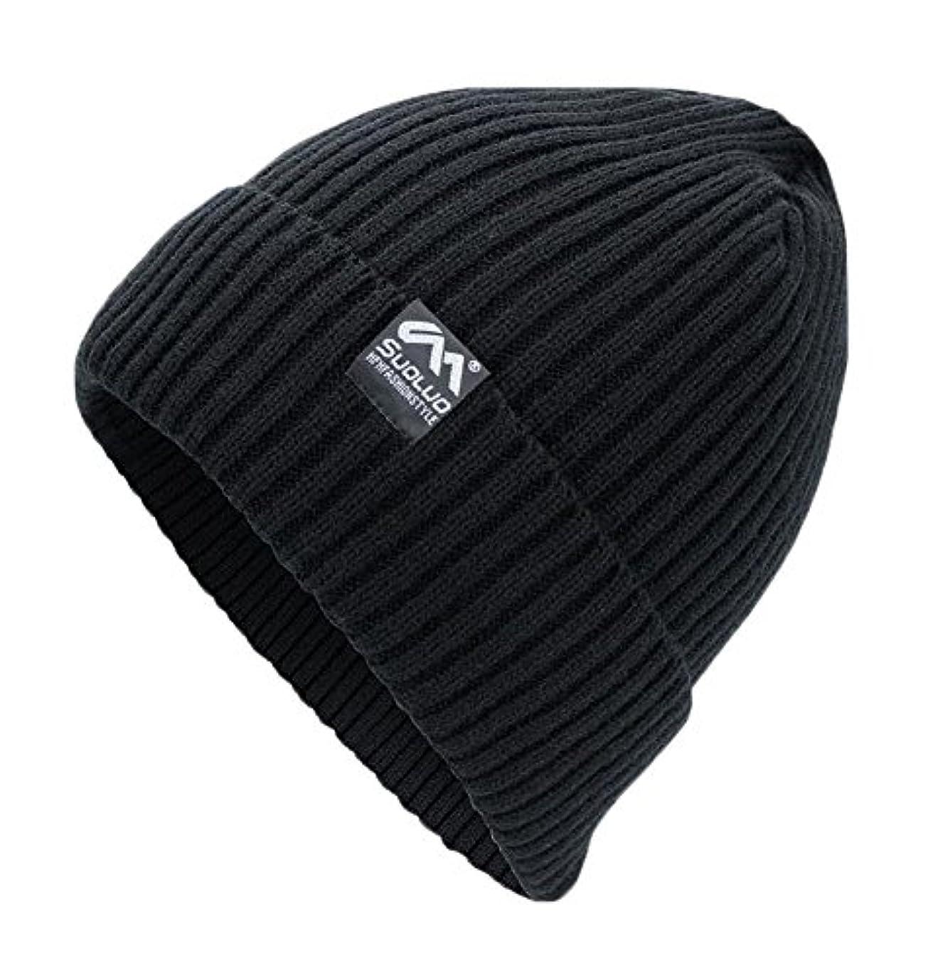 エンターテインメント車両結果として冬ニットウール暖かい帽子Daily Beanieキャップ
