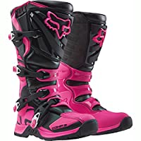 Fox Racing 2016Comp 5Women 'sオフロードバイクブーツ–ブラック/ピンク 11 ピンク 16450-285-11
