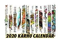 2020 Clifton Karhu Calendar (2020 カーフ カレンダー)