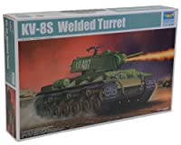 1/ 35Soviet kv-8s火炎放射器タンク溶接タレット