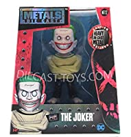 JADA-97944 SUICIDE SQUAD 4 Inches METALS DIECAST ACTION FIGURE THE JOKER ARKHAM VERSION [並行輸入品]