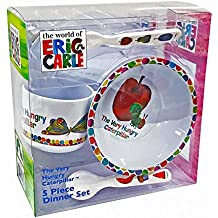 Eric Carle - Very Hungry Caterpillar 5-Piece Dinner SetMeal Time,38 x 29 x 8cm
