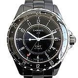 CHANEL(シャネル) J12 GMT 42mm メンズ腕時計 自動巻き AT オートマ ブラック セラミック ブラック文字盤 ステンレス ねじ込み式竜頭 H2012 (中古) [並行輸入品]