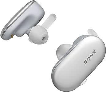 ソニー 完全ワイヤレスイヤホン WF-SP900 : Bluetooth対応 左右分離型 防滴仕様 4GBメモリ内蔵 2018年モデル / マイク付き /ホワイト