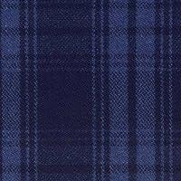 ウール【17310】【柄物】【ウール生地】カラー全4色【50cm単位 切り売り】【チェックツイード】 75 ブルー/ブラック