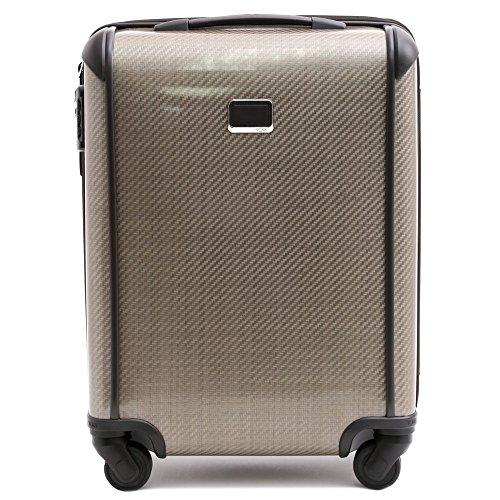 (トゥミ)TUMI スーツケース 4輪 テグラライト コンチネンタル キャリーオン 機内持ち込み可 (フォッシル) TEGRA-LITE CONTINENTAL CARRY-ON 28821FOS /FOSSIL [並行輸入品]