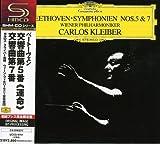 ベートーヴェン:交響曲第5番「運命」&第7番 画像