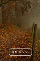 Journal: Beautiful Journal/Diary cover of Autumn season.