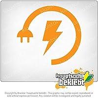 エネルギー低電力ブースト Energy Low - Electricity Boost 10cm x 9cm 15色 - ネオン+クロム! ステッカービニールオートバイ