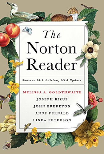 Download The Norton Reader: An Anthology of Nonfiction: Shorter Edition, MLA Update 0393617416