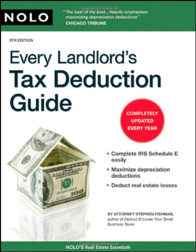 Download Every Landlord's Tax Deduction Guide 1413309062
