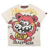 crazy gogo!! スーパークレイジーベアT ネップカスタード 6(120-125)