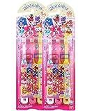 こどもハブラシ3本セット キラキラ☆プリキュアアラモード×2個セット