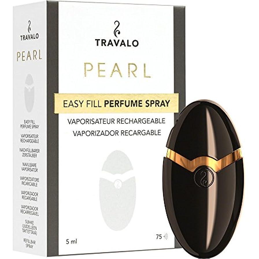 速報カテゴリー発表TRAVALO PEARL トラヴァーロ 香水 スプレー 香水 アトマイザー 香水 ボトル (ブラック)