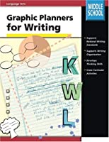 Graphic Planners for Writing, Grades 6 to 8
