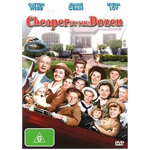 a review of the real life story of cheaper by the dozen As a child, i read and loved the book, cheaper by the dozen, so i rented the movie expecting an on-screen adaptation of the book i think the only similarities are the title, and the fact that they have 12 kids.