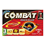 Combat Roach Killer Bait Stations, 6 count