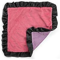 One Grace Place Sassy Shaylee Binky Blanket, Black/Pink/Purple by One Grace Place [並行輸入品]
