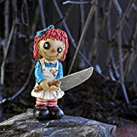 Georgetown Home and Garden Psycho Rag Doll Miniature Halloween Fairy Garden Accessory #17002