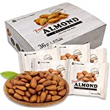 小分け煎りたてアーモンド 1kgに8g追加!(28gx36袋) ~これ1袋1日分のアーモンドを~ 産地直輸入 無塩 無油 無添加 素焼きアーモンド(等級:US Extra No.1)1日1袋