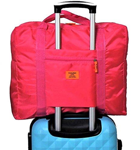 【POSITIVE】 スーツケース の持ち手に通せる バッグ オン バッグ フォールディングバッグ ...
