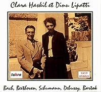 ルートヴィヒスブルク城のクララ・ハスキル(ハイライト)、リパッティのバルトーク (Clara Haskil et Dinu Lipatti / Bach, Beethoven, Schumann, Debussy, Bartok) [SACD Hybrid] [輸入盤]