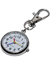 ナースウォッチ 時計 懐中時計 キーホルダー ナスカン シンプル リュック バッグ ポケット ランドセル PR-NASUKA-WATCH