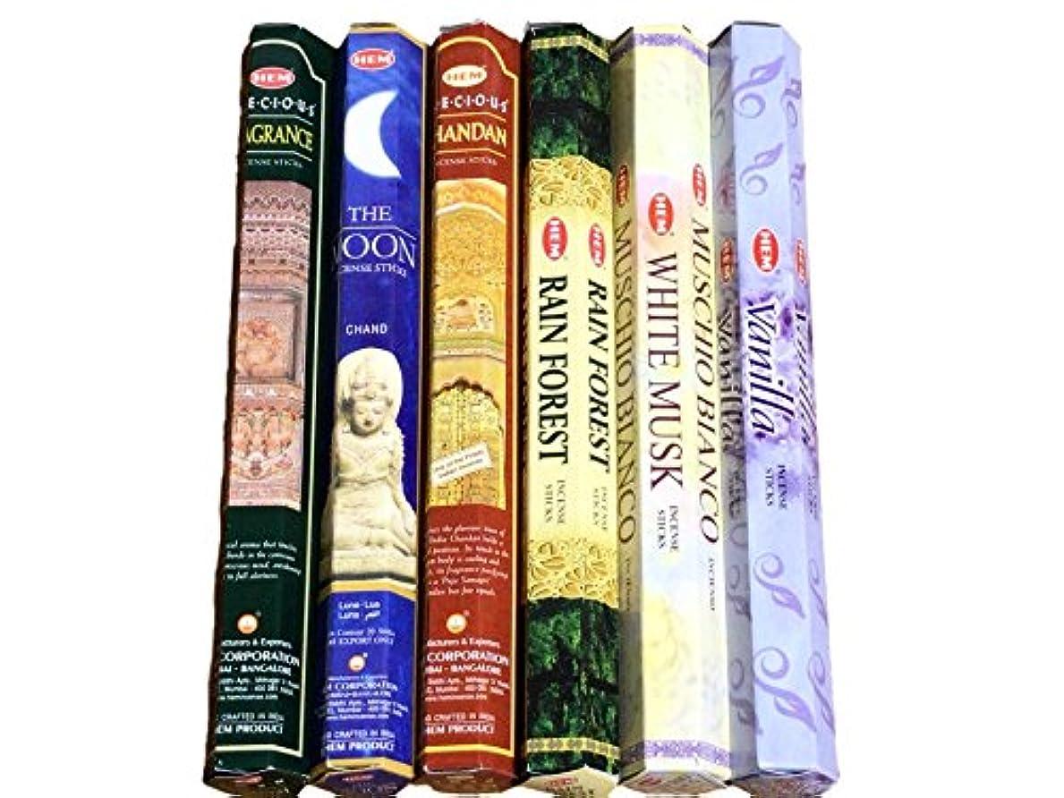 与える古風なサワーHEM ヘム インド お香 6種類 アソート