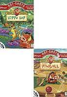 Disney's Hotshots (2 pack) Timon & Pumbaa's Hippo Hop/Jungle Pinball (輸入版)