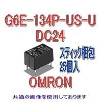 オムロン(OMRON) G6E-134P-US-U DC24 (25個入) マイクロリレー NN