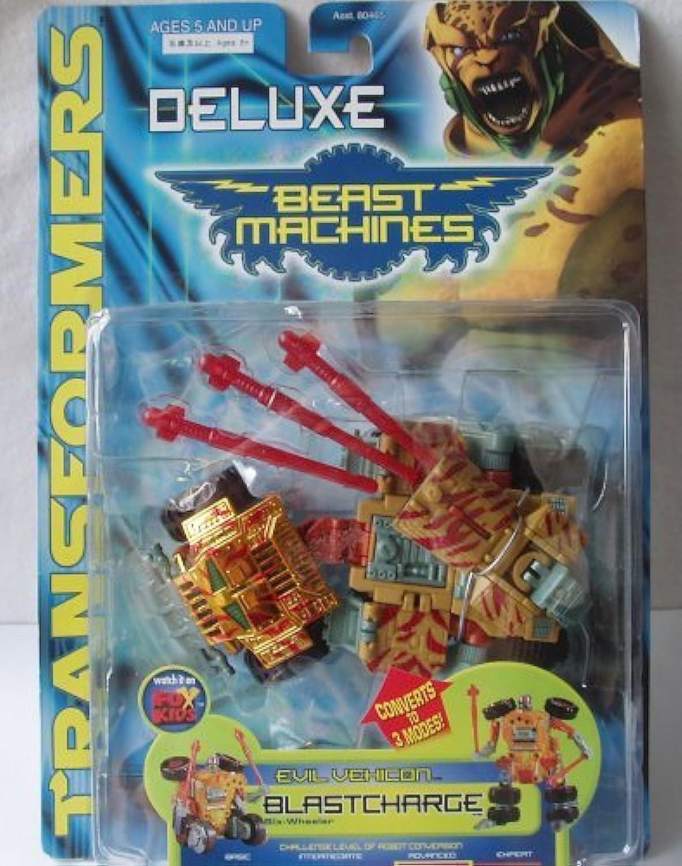 Transformers Beast Machines Deluxe Blastcharge Action Figure [並行輸入品]