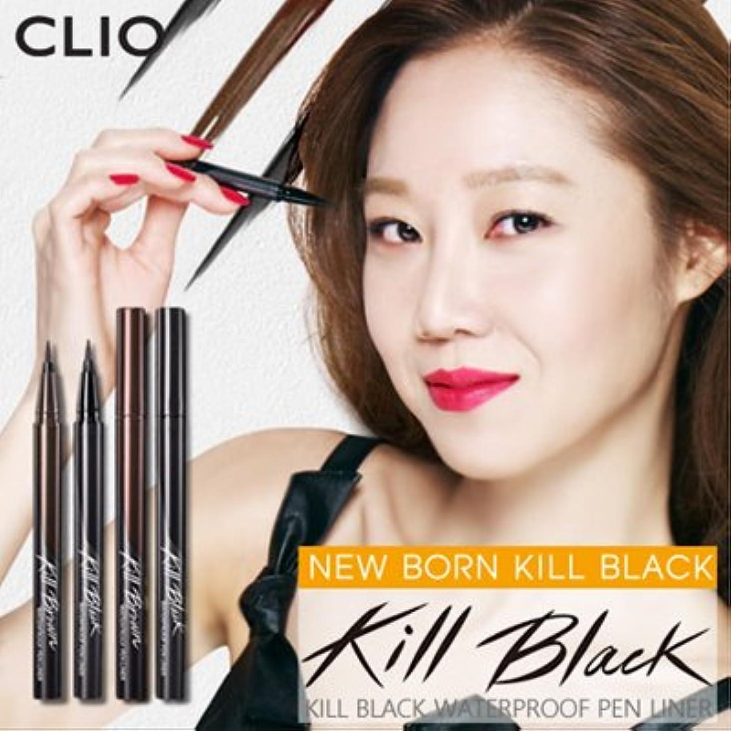 シンカンお誕生日資本CLIO Waterproof Pen Liner (# Kill Black) クリオ ウォータープルーフペンライナー [並行輸入品]