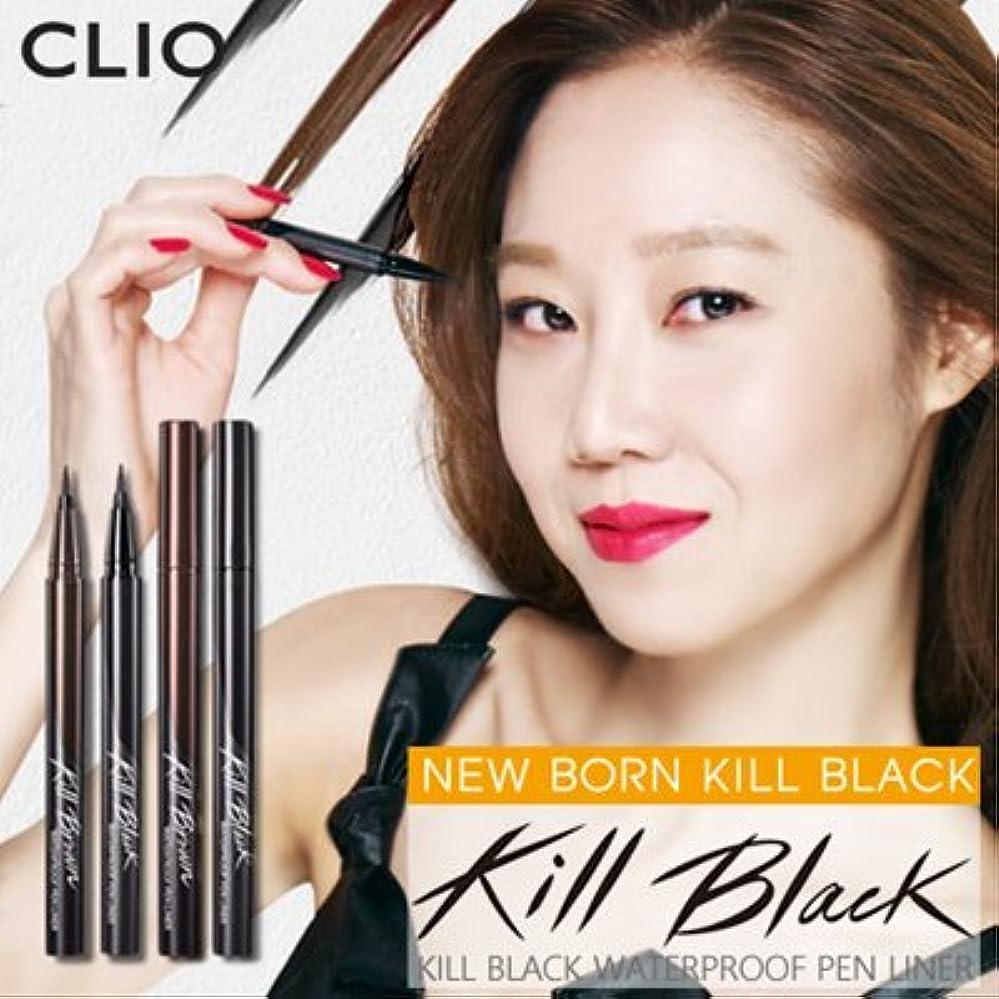 だますポテト原因CLIO Waterproof Pen Liner (# Kill Black) クリオ ウォータープルーフペンライナー [並行輸入品]