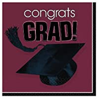Congrats Grad Berry Graduation Lunch Napkins おめでとうグラッドベリー卒業ランチナプキン♪ハロウィン♪クリスマス♪